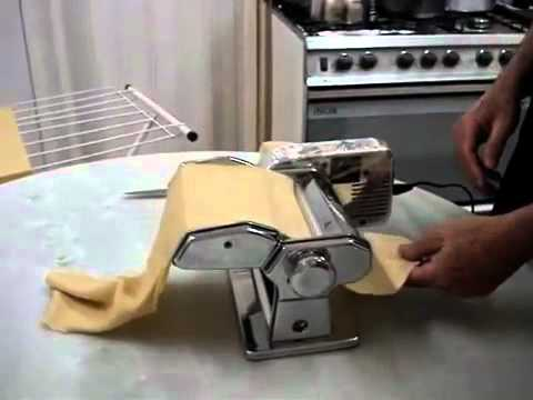 Maquina Para Hacer Pasta Marcato Atlas con Motor 150mm