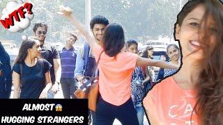 Girl Hugging Random People Prank | pranks in india | best indian pranks