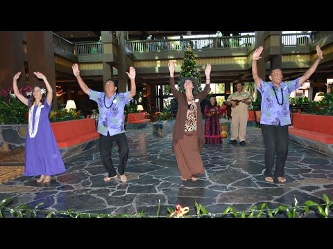 Disney's Polynesian Village Resort NEW Lobby Dedication and Ribbon Cutting Ceremony