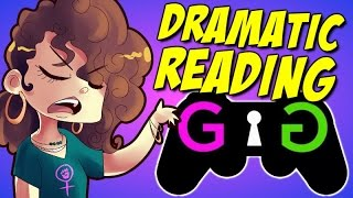 A Dramatic Reading of Anti-GamerGate Tweets | #GamerGate