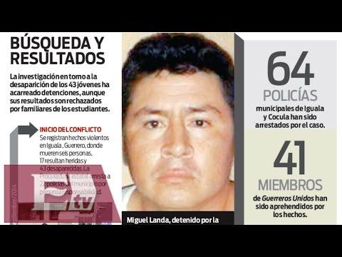 Cae otro implicado en el caso Iguala / Excélsior Informa