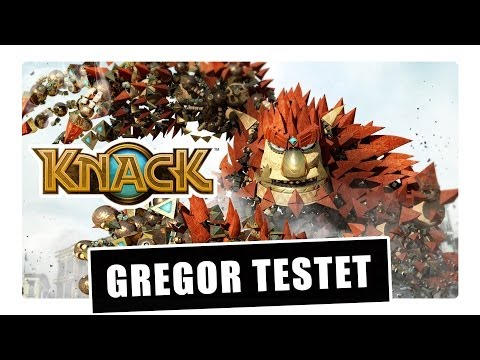 Gregor testet Knack für die PlayStation 4 (Review)