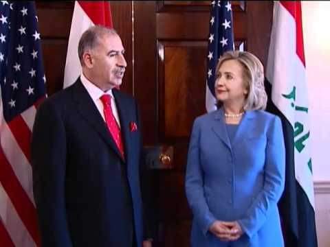Secretary Clinton Meets with Osama al-Nujaifi, Speaker of the Iraqi Parliament