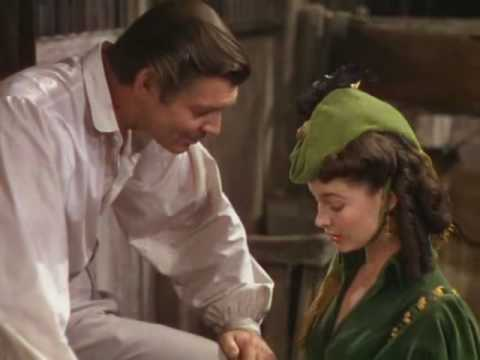 Gone With The Wind-scene With Rhett Borrowing 300 Dollars For Tara.avi video