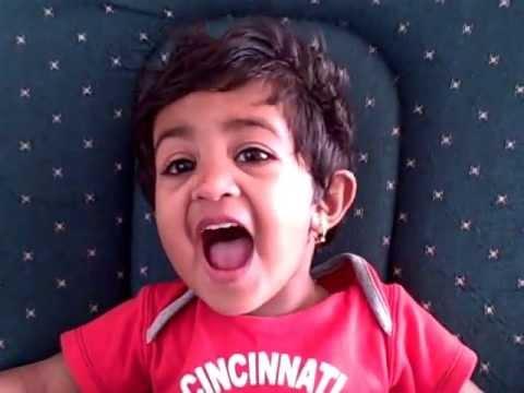 Aashna Singing Rhymes   071513 video