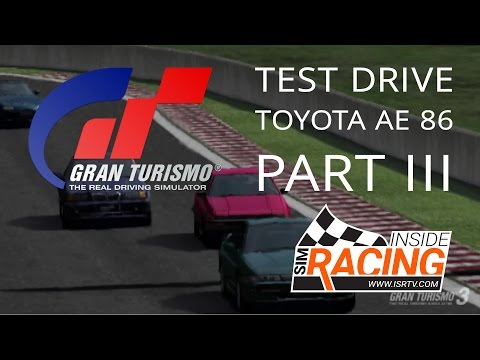 Gran Turismo 3 A-Spec Test Drive - Part III in the Toyota AE86