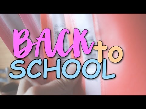 BACK TO SCHOOL 2018 + СОВЕТЫ || КОНКУРС ОТ ЦАРЯ