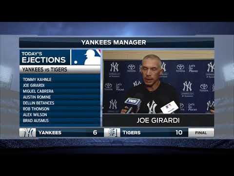 Tigers LIVE Postgame - Yankees manager Joe Girardi - 8.24.17