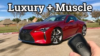 2018 / 2019 Lexus LC 500 | Super Coupe Blending Luxury and Muscle