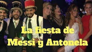 ¡El momento del baile de Messi y Antonela!
