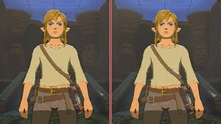 Zelda: Breath of the Wild Final Graphics Comparison - Wii U vs. Nintendo Switch