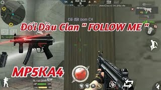 """[ Bình Luận CFL ] MP5KA4 Đối Đầu Với Team Clan """" Follow Me """" May Mắn Mỉm Cười - Tường Trần CFM"""
