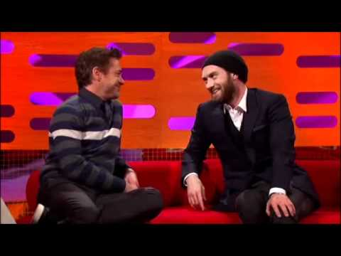 The Graham Norton Show s10e08 with Robert Downey Jr and Jude Law PART 3/5