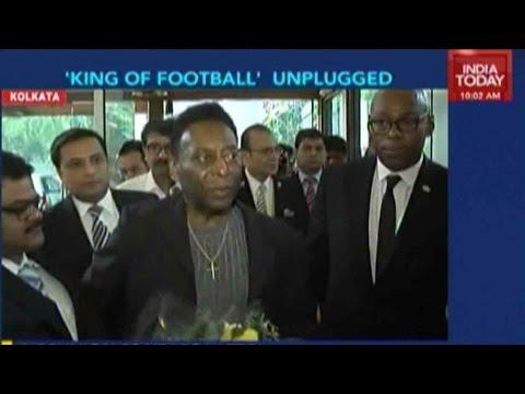 Legendary Footballer Pele Arrives In Kolkata For 3-Day Visit