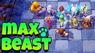 MAX BEAST VICTORY -  ROAD TO ROOK - AUTO CHESS MOBILE