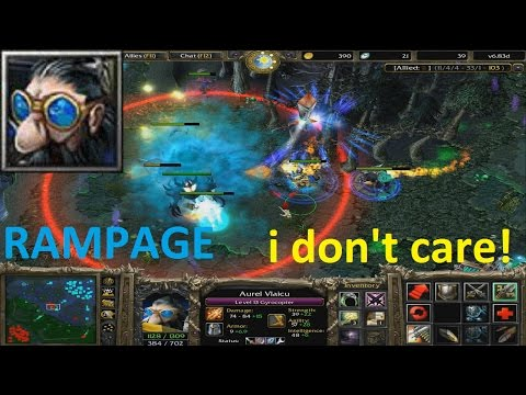 DotA 6.83d - Gyrocopter Rampage (I don't care)