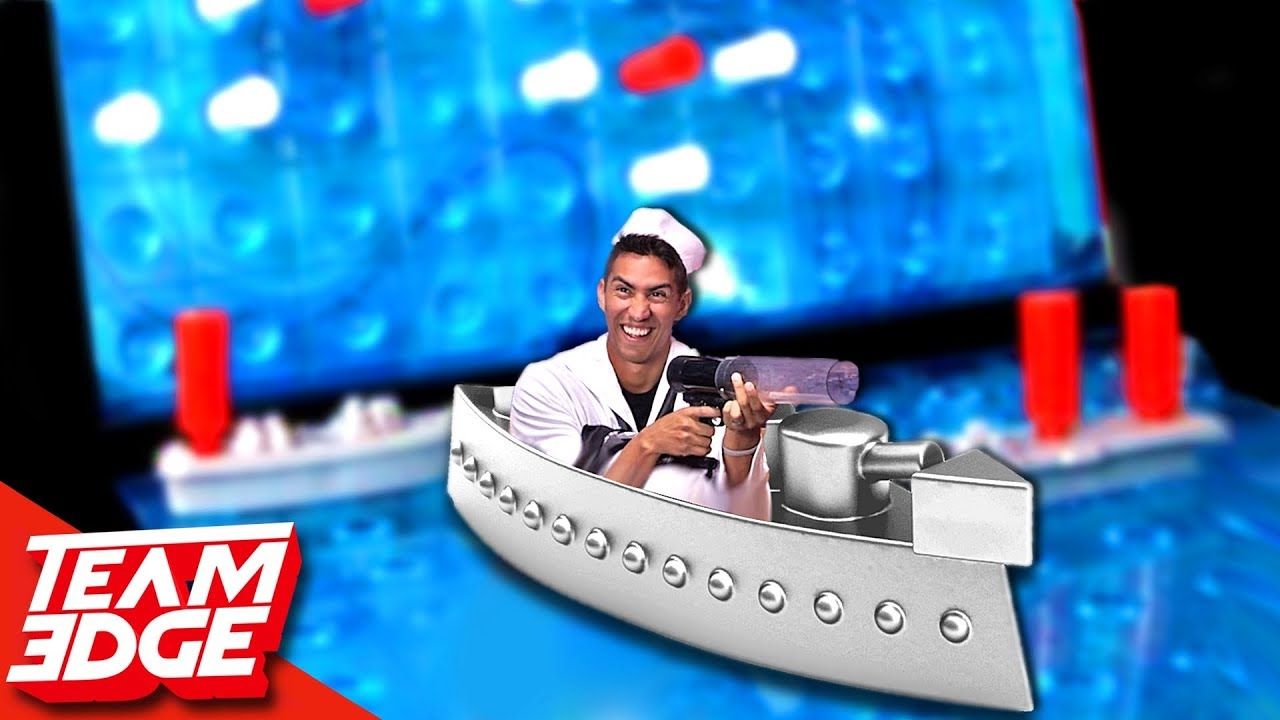 GIANT Battleship Challenge!!