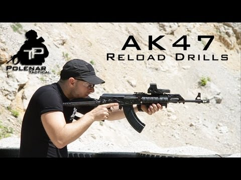 AK47 Tactical Reload Drills