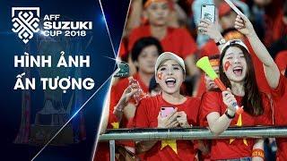 CĐV Việt Nam nhuộm đỏ khán đài SVĐ Quốc gia Lào   VFF Channel