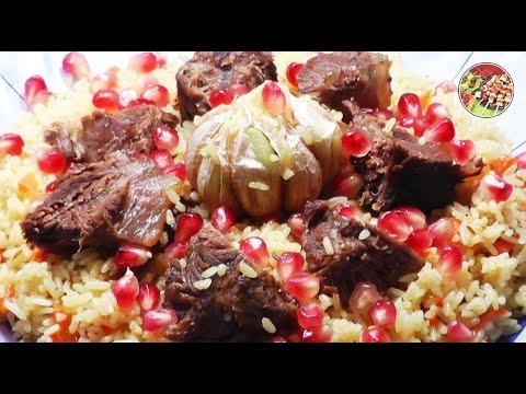 Плов из говядины на курдючном жире. Просто, вкусно, недорого.