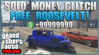 GTA 5 Online: *SOLO* How to get the Roosevelt or ANY CAR FREE! *After Patch 1.28/26*