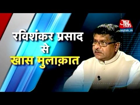 Exclusive interview with Ravi Shankar Prasad