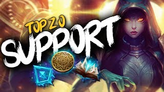 Top 20 SUPPORT Plays #14 | League of Legends