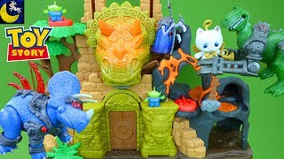 Toy Story That Time Forgot Toys Imaginext Dinosaur Playset Toys for Kids Battlesaurs Buzz Lightyear