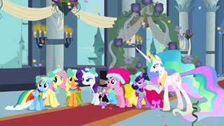 My Little Pony Royal Wedding With Jeopardy Theme
