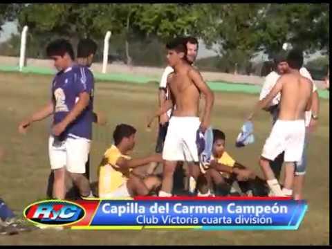 Club Victoria campeón cuarta división