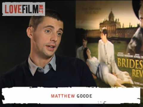 Matthew Goode on Brideshead Revisited