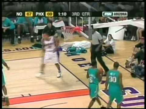 Shawn Marion 33 pts,15 reb,3 blk, season 2005 suns vs hornets