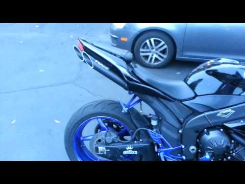2008 Yamaha R1 with Toce Exhaust