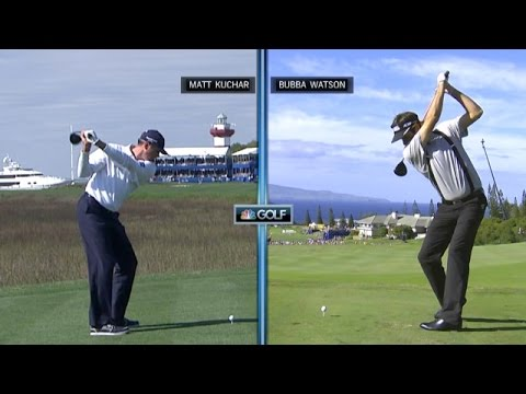 Matt Kuchar's swing comparison at Humana