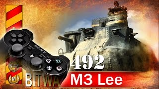 M3 Lee - ciekawostka z PS4 - BITWA - World of tanks