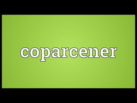 Header of coparcener