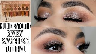 New Laura Lee's Nudie Patootie Palette Review, Swatches & Tutorial ♡ Kathyy Beautyy & Tutorials