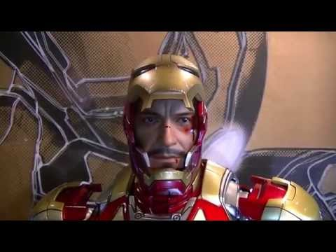 Hot Toys Iron Man 3 Mark 42 Part 1 of 2