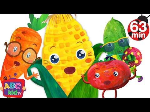 Vegetables Song   + More Nursery Rhymes & Kids Songs - ABCkidTV