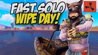 The START of a NEW Solo Series! - Rust Solo Survival Gameplay #1