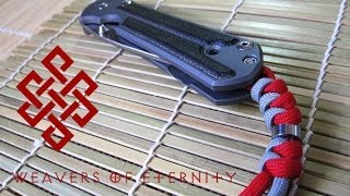 How to Tie a Chris Reeve Lanyard (Snake knot with bead)