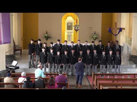 Junior Choir Performing Steal Away at Kilkenny Music Festival 2018