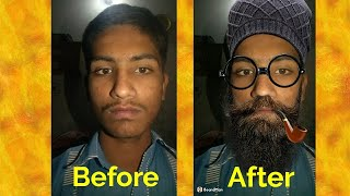 how to change your face using funny photo editor
