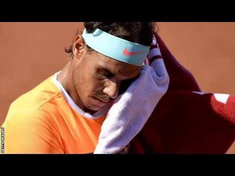 Rafael Nadal beaten by Fabio Fognini at Barcelona Open