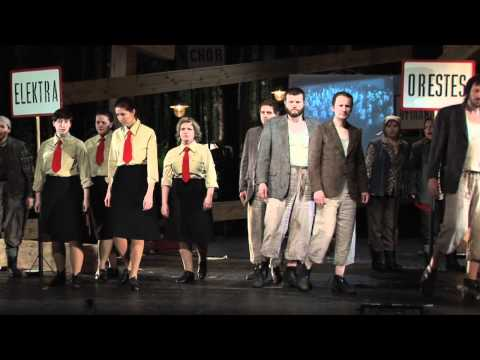 Thumbnail of Wysocka plays Klitemnestra in Xenakis' Oresteia (dir. Zadara)