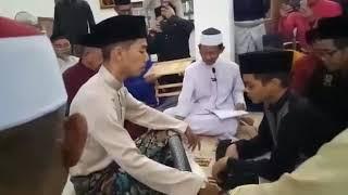 Adik lelaki 14 tahun nikahkan kakaknya sendiri setelah ayah mereka meninggal 1 bulan sebelum majlis