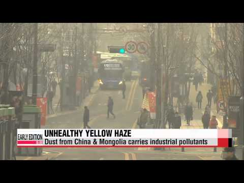 Korea and China collaborate to tackle growing problem of yellow dust   황사경보, 대처법