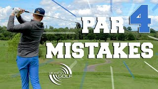 Par 4 Mistakes EVERY GOLFER Makes   ME AND MY GOLF