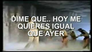 """karaoke Julio Iglesias """"Quiéreme"""""""