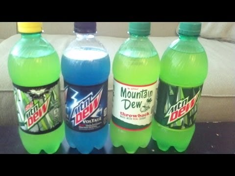 Mountain Dew Challenge oz Mountain Dew Challenge